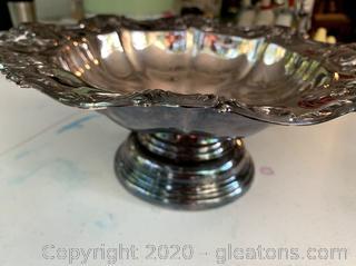 Vintage Towle Old Master Pedestal Bowl