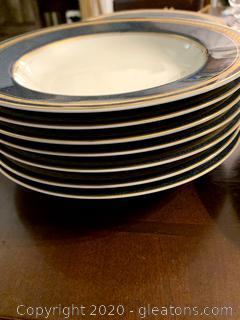 Mikasa Imperial Lapis Rim Soup Bowl (10)