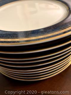 Mikasa Imperial Lapis Salad Plates (10)