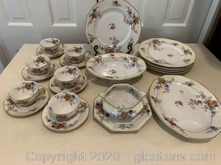Antique Haviland Jewel China Set