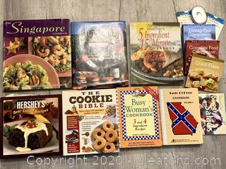 Assorted Cook Books Lot