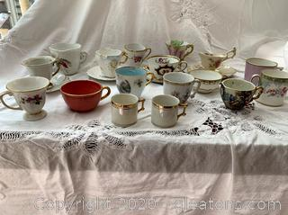 Vintage/Antique Miniature Cups Lot