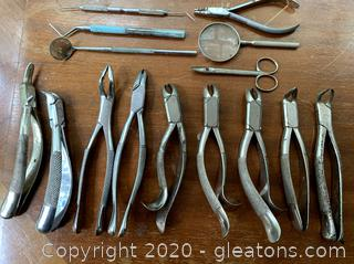 Vintage Dental Tools (A)