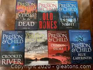"Preston and Child ""Pendregast"" Series Books Lot"