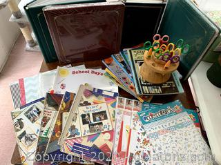 Creative Memories and Others Scrapbook Lot