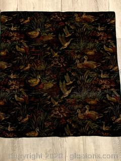 Ducks Tapestry Table Topper/Wall Hanging