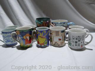 Collection of Coffee Cups