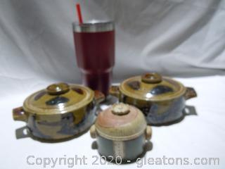 3 Piece Ceramic Lot