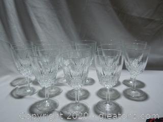 14 Wine Glasses