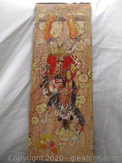 Vibrant Clown Painting