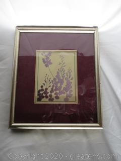 Painting Of Purple Wild Flowers