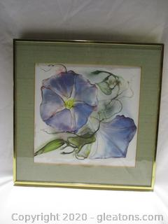Water Color Painting Of Flowers