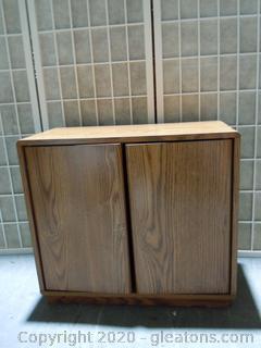 Small 2 Door Storage Cabinet