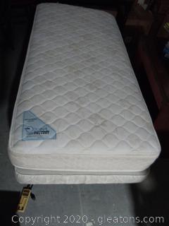 King Kong Twin Size Adjustable Bed Base With Orthopedic Adjustable Mattress