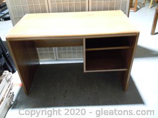Small 2 Shelf Desk