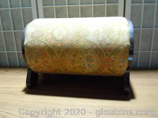 Antique Round Footstool