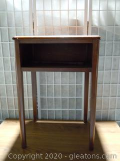 Vintage Wooden Accent Table
