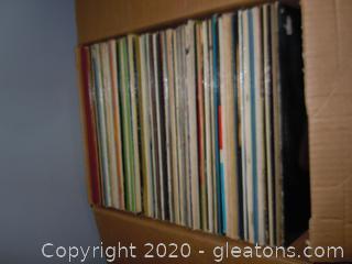 Box Of Vintage Vinyl LP.S