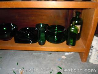 It's A Jolly Green Shelf Lot E
