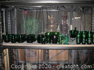 It's A Jolly Green Shelf Lot G