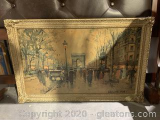Framed Print/Reproduction