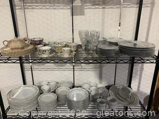 Various Collections of China & Crystal
