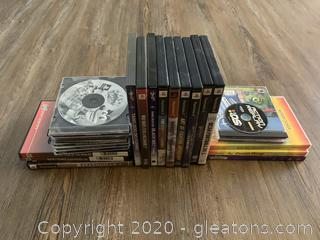 Large Collection of Playstation and PC Games - Disney, Pokemon, Curious George, Harry Potter, Spiderman, Sports