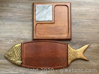 Pair of Serving Boards