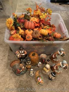 Collection of Thanksgiving Decor
