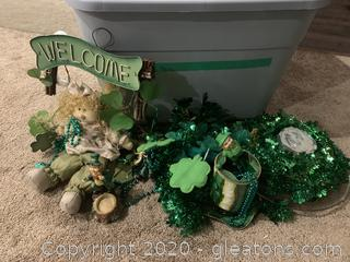 Collection of St.Patricks Day Decor
