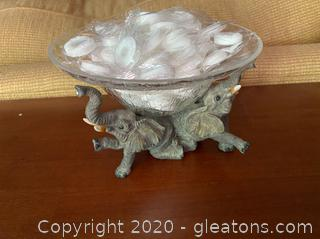 Elephant Candy Dish