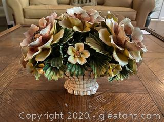 Porcelain Flower Arrangement