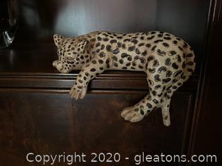 Sleeping Cheetah Shelf Decor