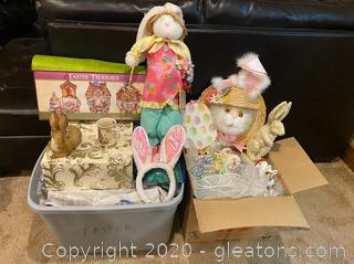 Large Collection of Easter Decor