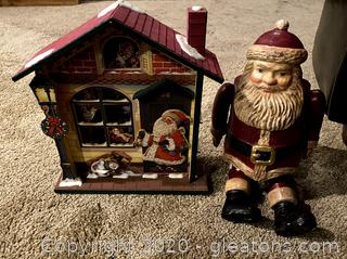 Vintage Wooden Christmas Decor