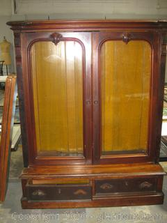 Antique Buffet or Display Cabinet