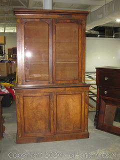 Antique (19th Century) Primitive Kitchen Pantry Cupboard