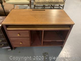 2 Tone Wooden Desk