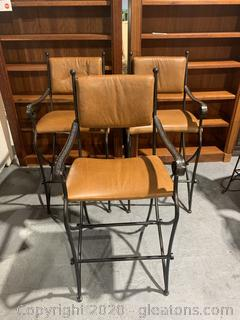 Set of 3 Bar Stool Chairs