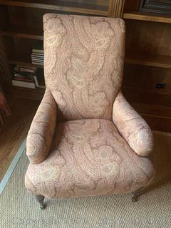 Rolling Kravets Arm Chair (B)