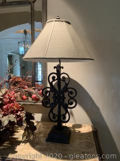 Uttermost Heavy Metal Lamp (B)