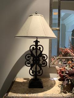 Uttermost Heavy Metal Lamp (A)