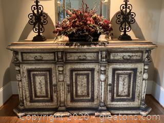 Gorgeous Farmhouse Rustic Foyer Piece / Buffet