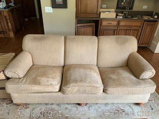 Ethan Allen 3-Seat Sofa