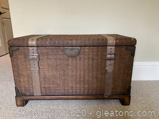 Decorative Blanket Chest