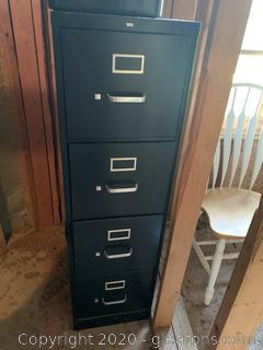 HON 4 Drawer Metal Filing Cabinet