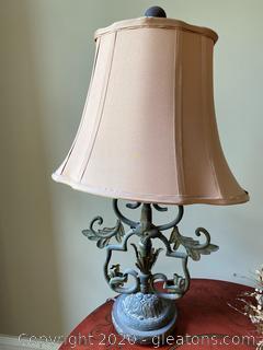 Metal Base Decorative Lamp