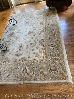 Large Patterned Area Rug 10 x 13'