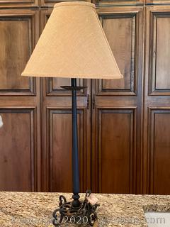Metal Candle Stick Lamp (A)