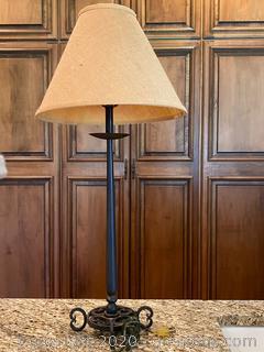 Metal Candle Stick Lamp (B)